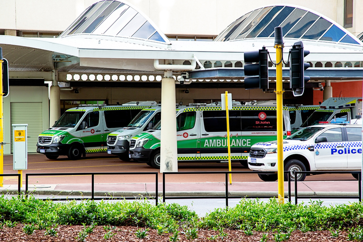 Article image for Liam Bartlett reveals the staggering cost of ambulance ramping in WA
