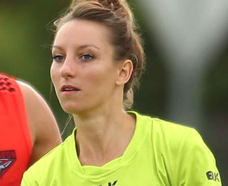 Article image for AFL Umpire Eleni Glouftsis After Receiving OAM
