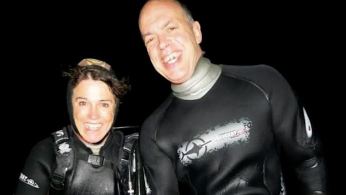 Article image for Esperance woman returns to site of husband's fatal shark attack