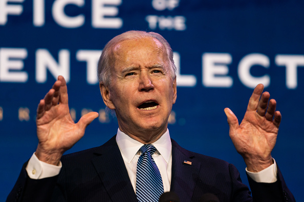 Article image for The surprising challenge that will confront Joe Biden during his inauguration speech