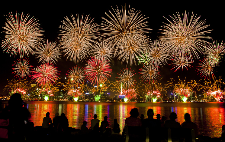 Article image for Mystery Swan River fireworks display to go ahead on Australia Day