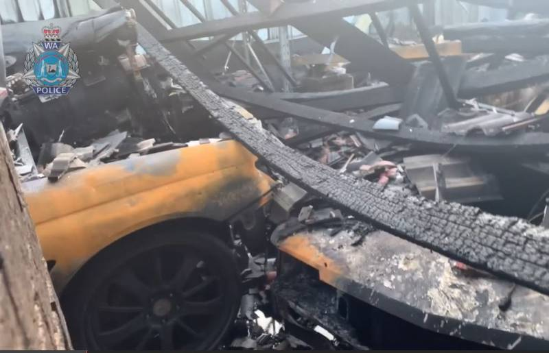 Arson squad investigate after southern suburbs fire causes $200k damage