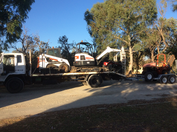 Article image for Eight-tonne truck stolen from Perth's southern suburbs