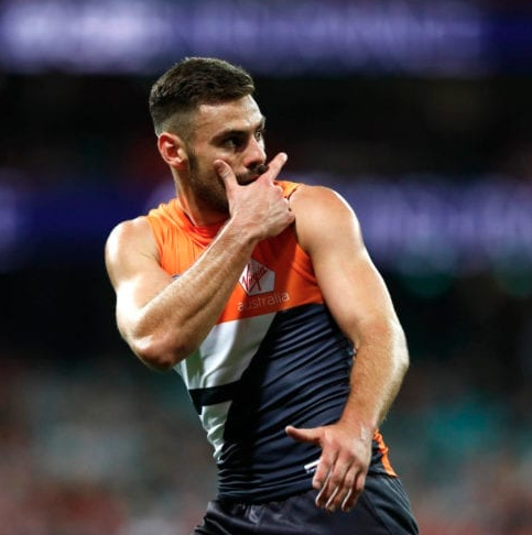 Article image for GWS Captain Stephen Coniglio