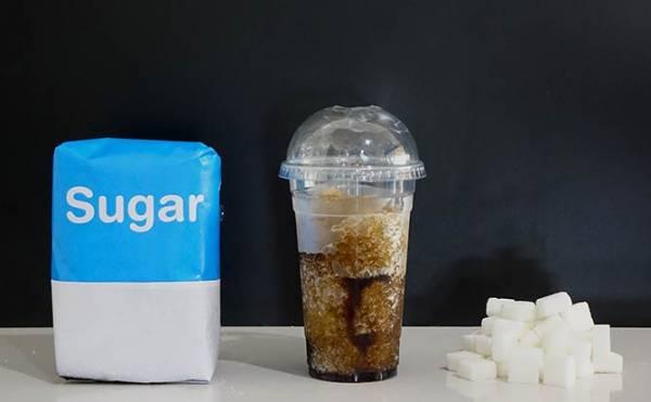 SHOCK: concerning amount of sugar in slushies