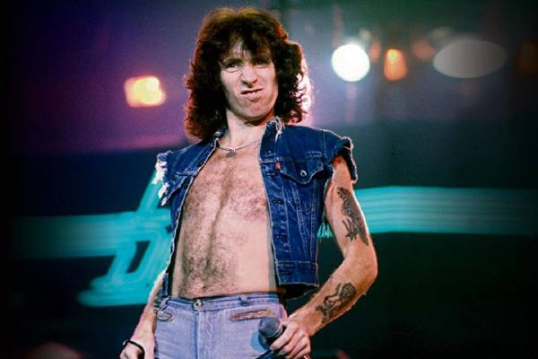 Bon Scott's son remembers his famous dad on The Nightshift