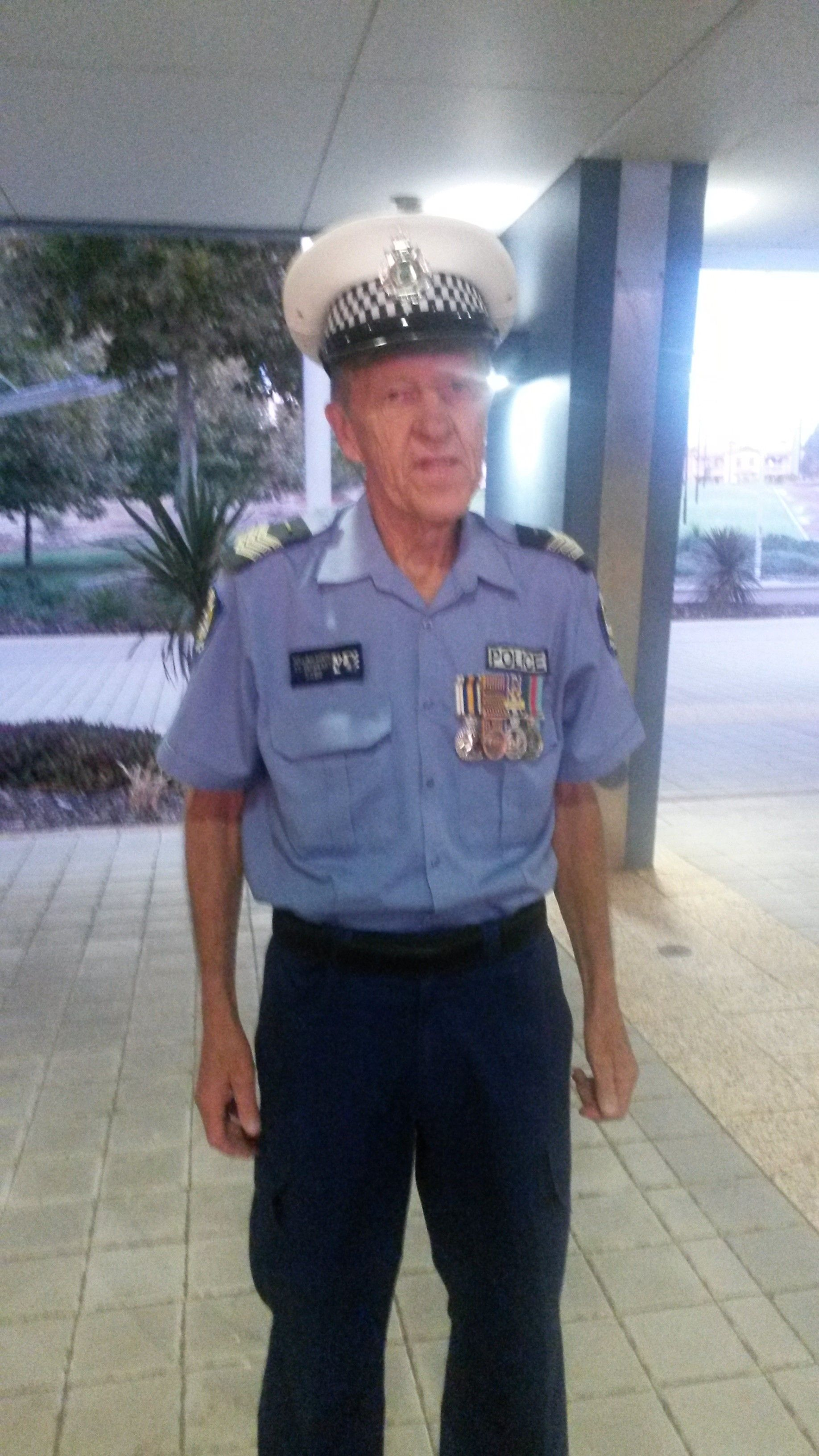 Article image for WA's longest serving police officer laid to rest