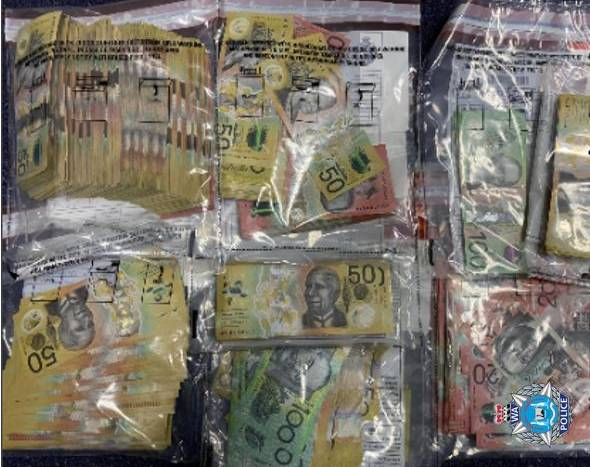 Article image for WA police seize drugs and $47k in vehicle stop