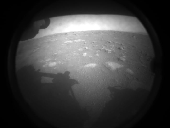Article image for NASA's Perseverance rover lands on Mars