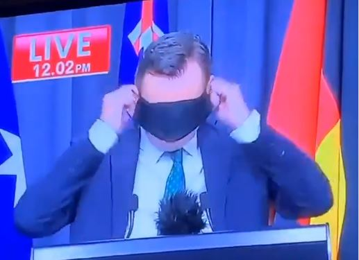 Article image for WHAT'S TRENDING | Premier mask fail