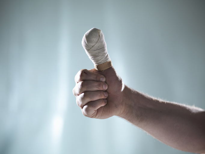 Article image for Melbourne man turns severed thumb into strange memento