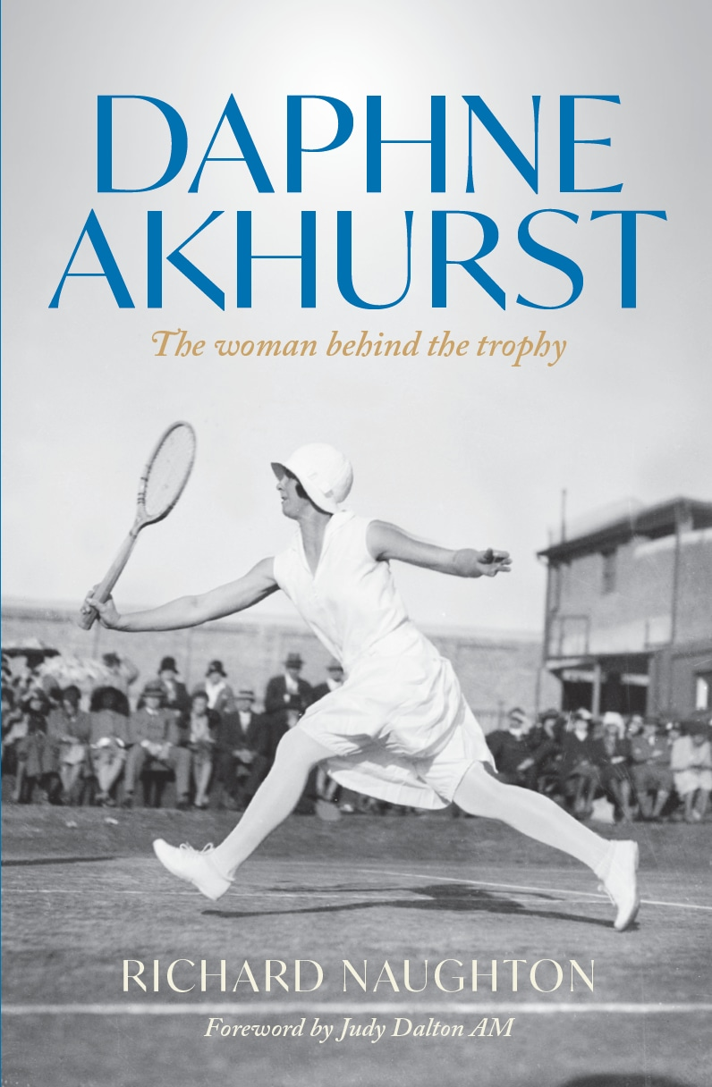 """Richard Naughton – Author of  """"Daphne Akhurst: The Woman Behind the Trophy"""""""