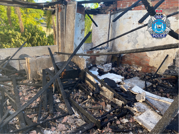 Article image for Police investigate suspicious fire in Perth's east