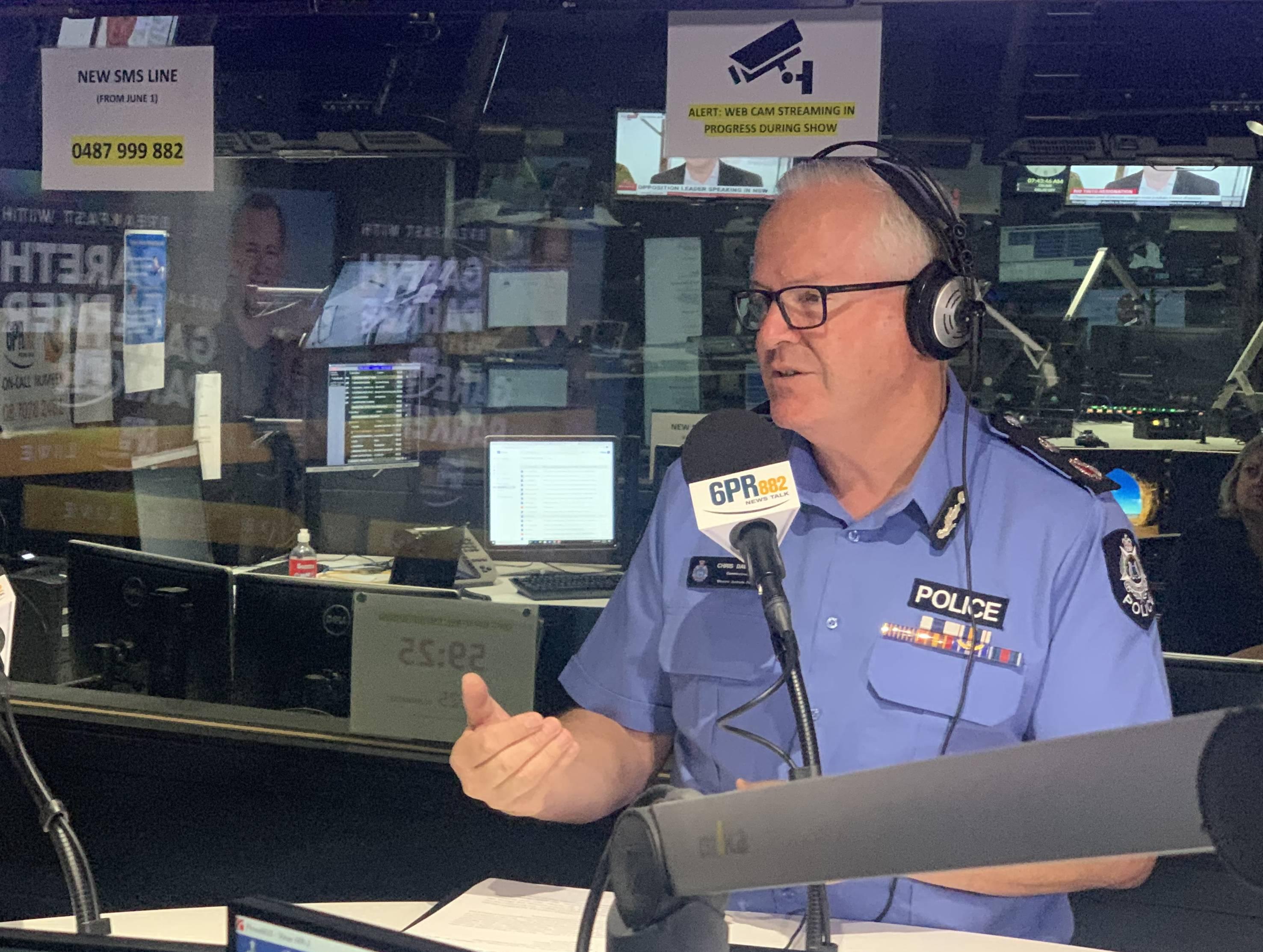 Article image for WA Police Commissioner backs permanent border controls