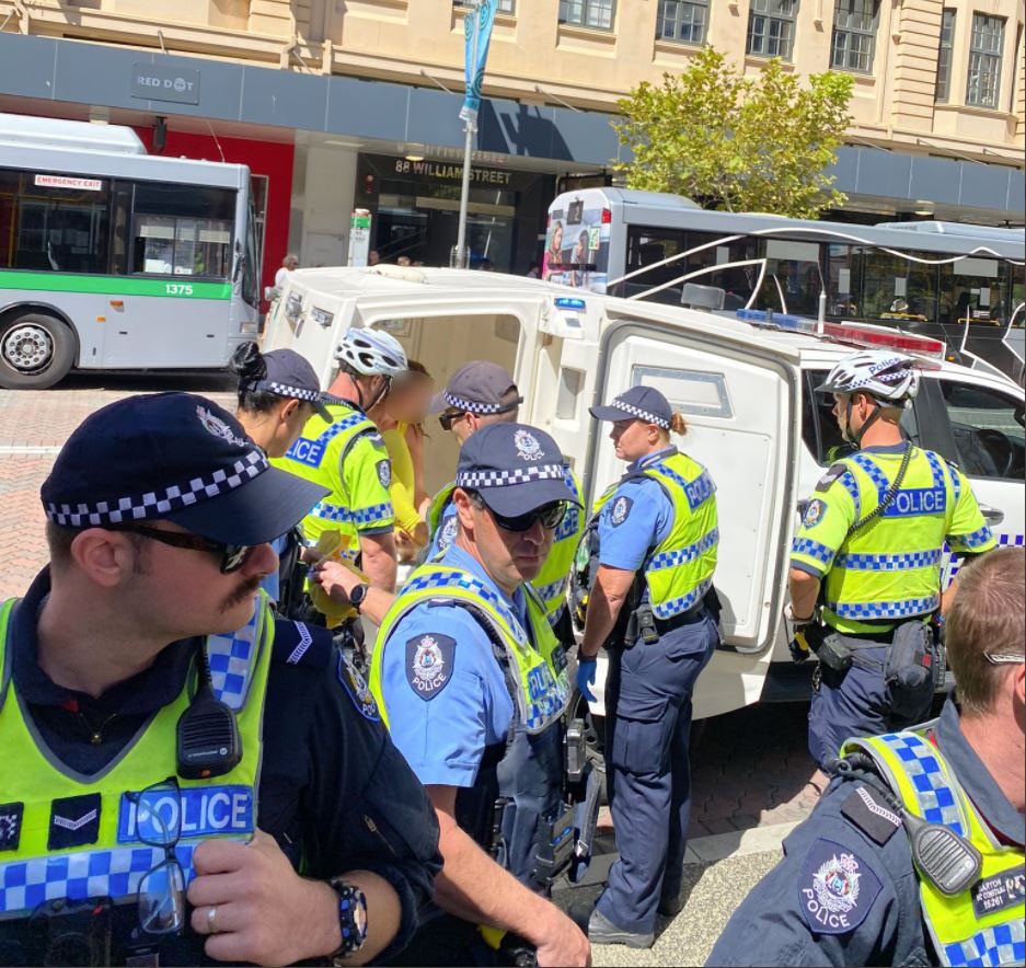 Article image for More Extinction Rebellion protesters arrested amid commuter disruption