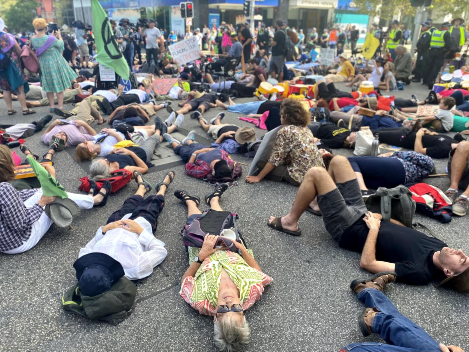 Article image for Gareth Parker slams Extinction Rebellion protestors ahead of more CBD disruption