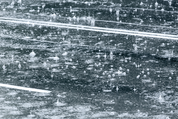 Article image for Perth drenched with half the average monthly rainfall in a day
