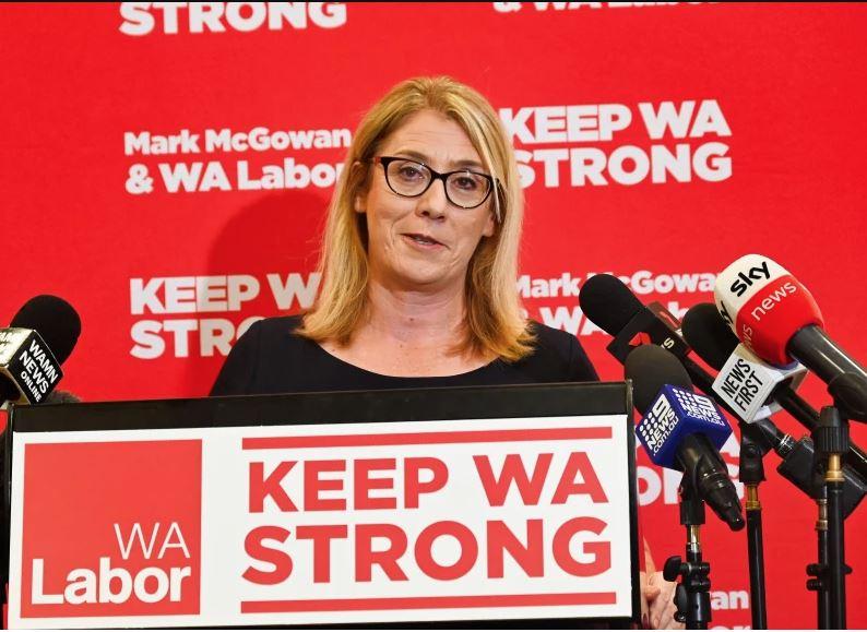 Article image for WA election 2021 | Rita Saffioti denies COVID response helped boost Labor campaign