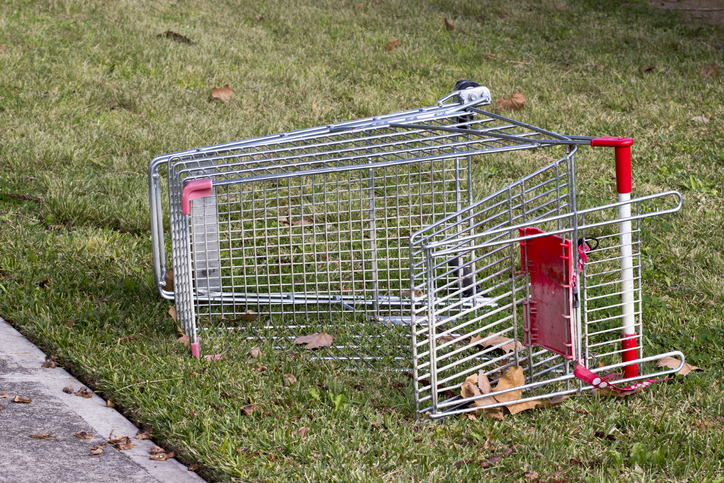 Article image for Trolley crackdown: Supermarkets to be slugged with new fines