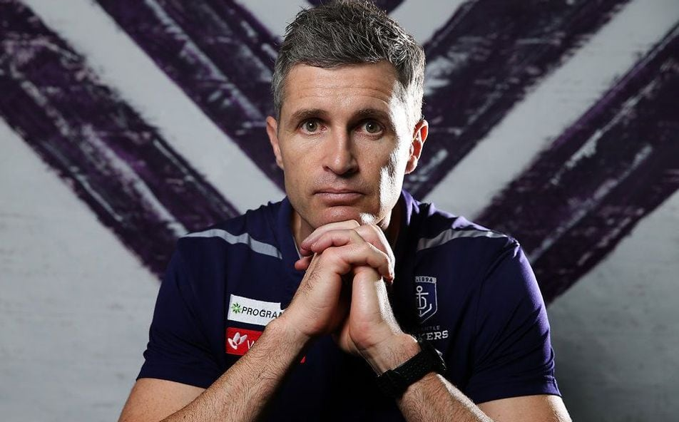 Article image for Fremantle coach Justin Longmuir chats ahead of clash with Lions