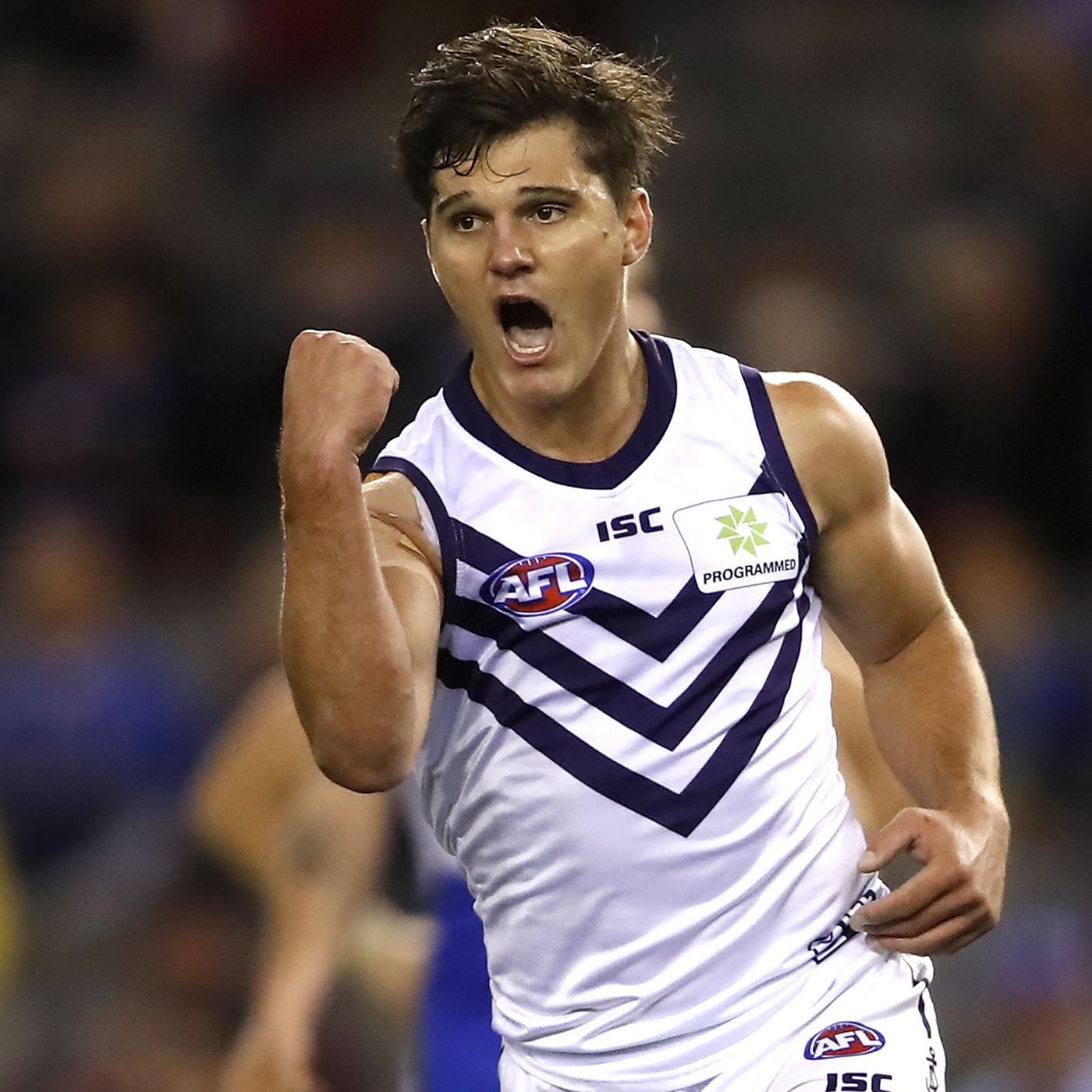 Article image for Fremantle Dockers small forward Lachie Schultz