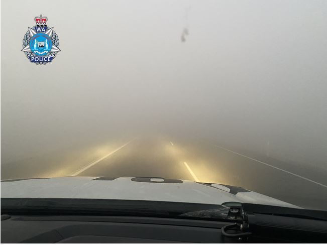Article image for Forrest Highway closed as thick smoke blankets road