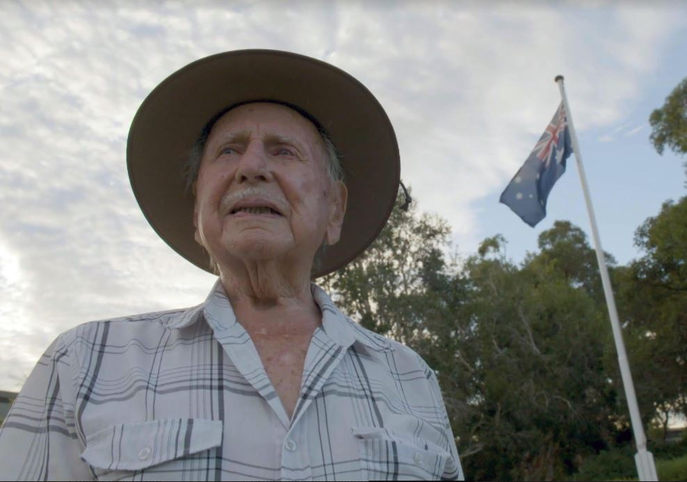 Article image for An ode to Arthur: 103-year-old war veteran to inspire footy crowds