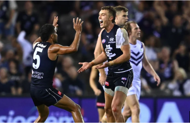 Article image for Carlton cruise to victory over the Dockers on Easter Sunday