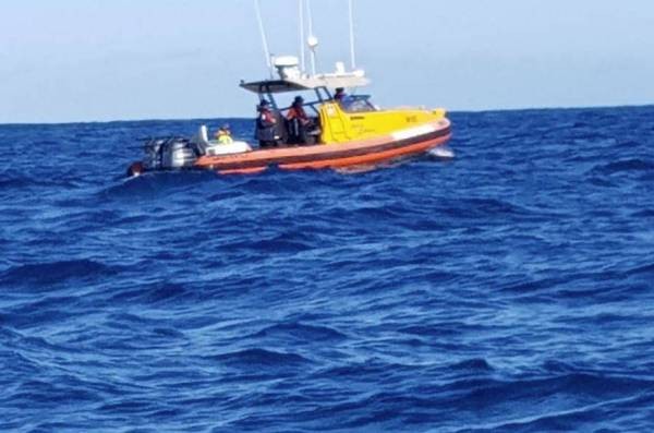 Article image for Rescue mission to save three people stranded on island off WA coast