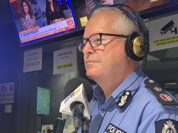 Police Commissioner Chris Dawson