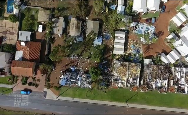 Article image for The new threat facing Kalbarri residents after Cyclone Seroja