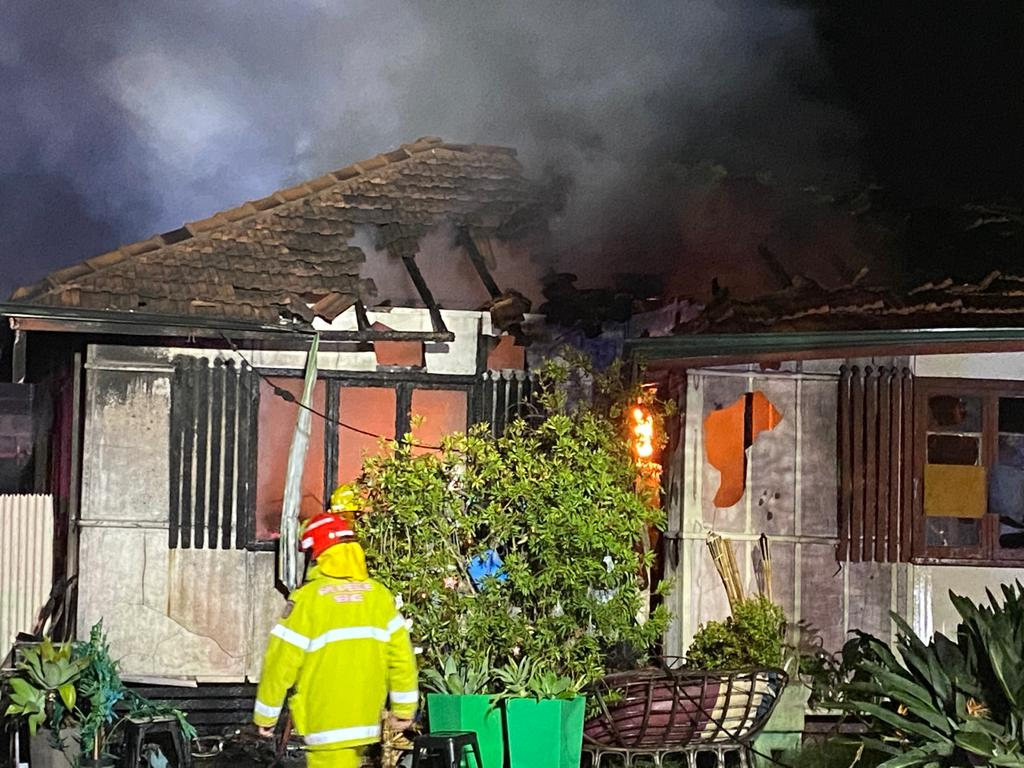 Article image for Two people escape burning home north of Perth