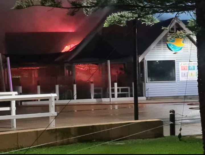 Article image for Popular Busselton restaurant goes up in flames