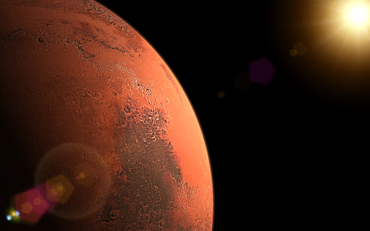 Article image for NASA to make history with first flight on Mars