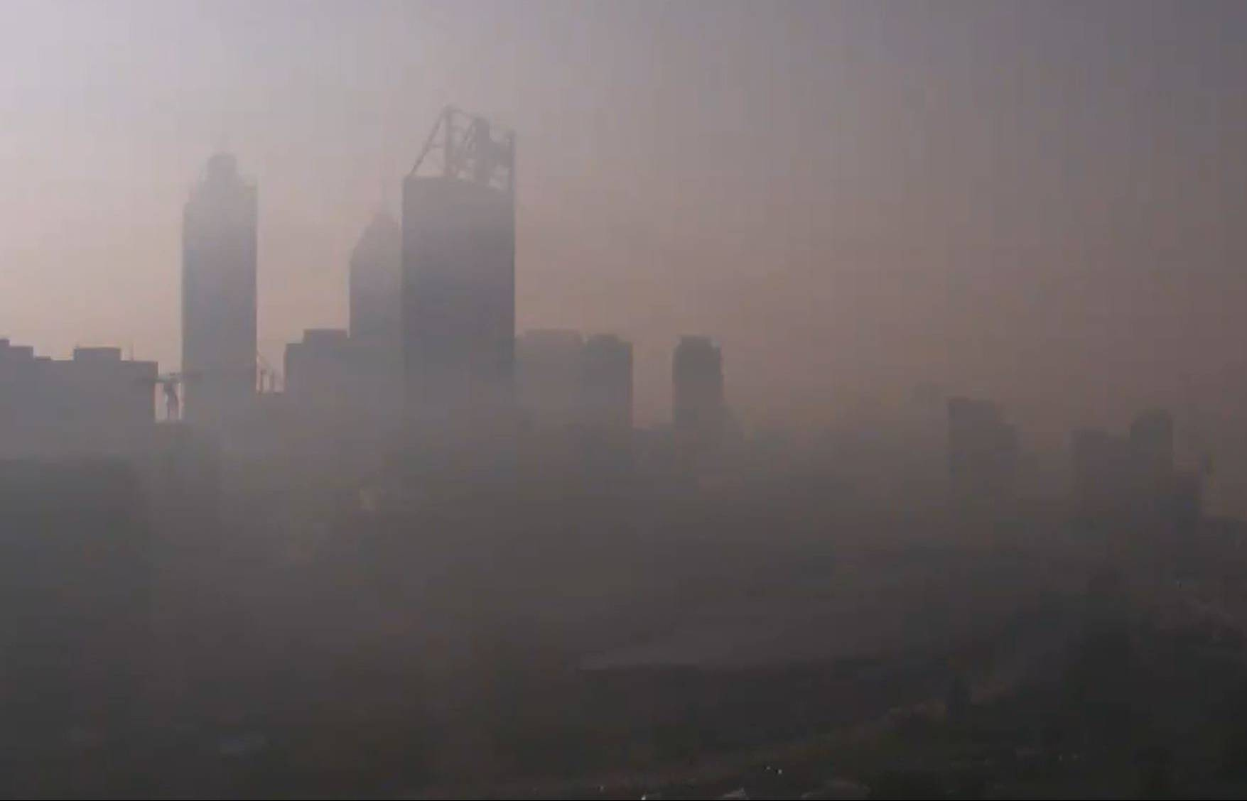 Article image for Smoke alert issued as haze continues to linger across Perth