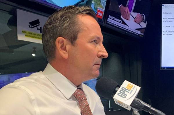 Article image for Premier Mark McGowan doubles down on lockdown approach
