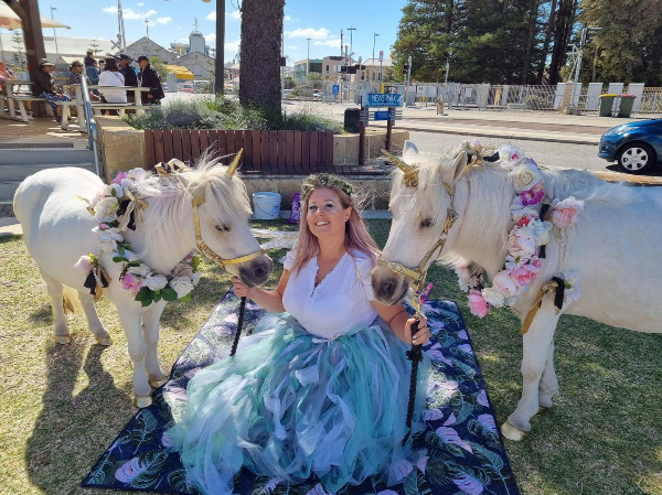 EXCLUSIVE: Pony ride operator 'attacked' by extremists at Fremantle festival