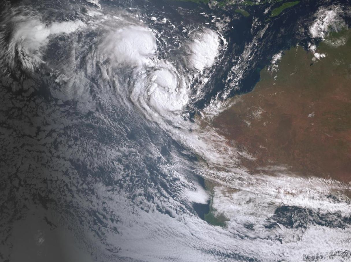Article image for 'We survived': Kalbarri resident spends night on boat during Cyclone Seroja