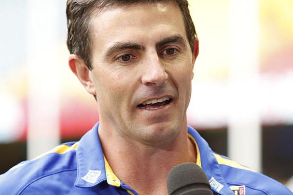 West Coast Eagles assistant coach Jaymie Graham