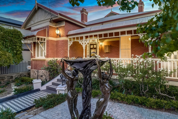 Article image for 'Iconic' North Perth home up for grabs!