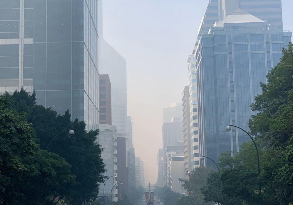 Article image for Smoke warning issued as haze blankets Perth and South West