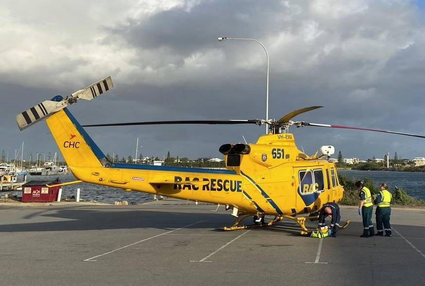Article image for Details of dangerous Jurien Bay rescue mission revealed