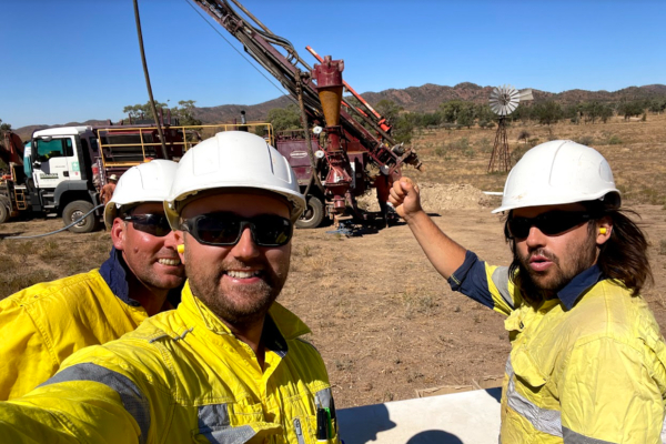 Article image for Taruga Minerals: Visible copper in all 30 drill holes – that'll do!