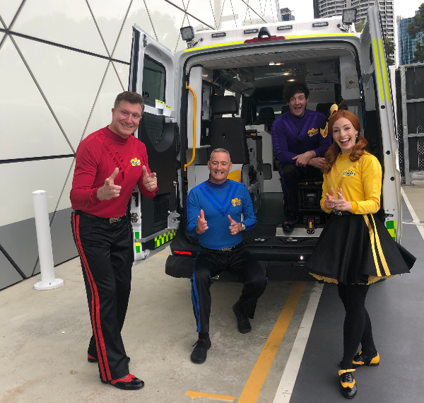 Article image for The Wiggles collaborate with St John WA to help kids remember 'triple zero'