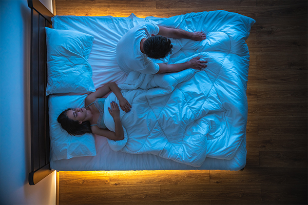 Why a doctor is telling couples to get a 'sleep divorce'