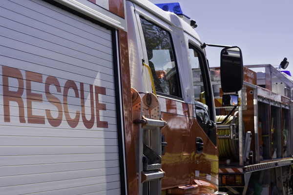Article image for Fire guts house in Perth's southern suburbs