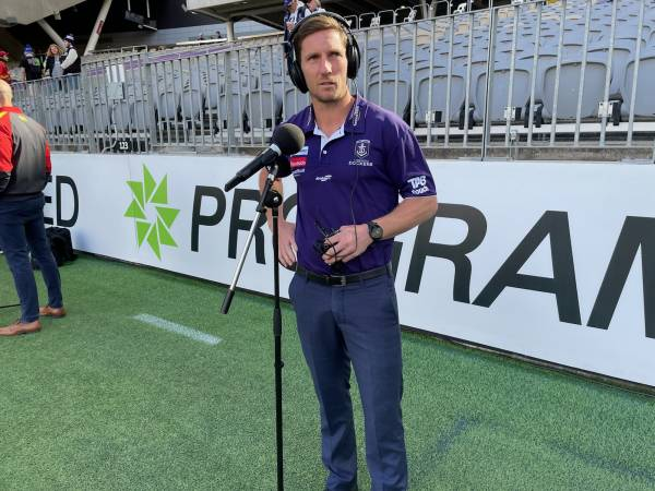 Fremantle v Gold Coast: Assistant Coach Matthew Boyd