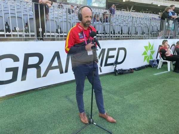 Fremantle v Gold Coast: Jon Haines General Manager of Football