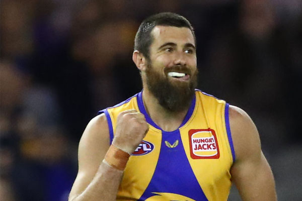Josh Kennedy with the latest on his and Luke Shuey's injuries
