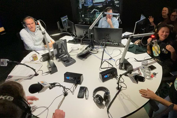 The on-air surprise that left Liam Bartlett speechless